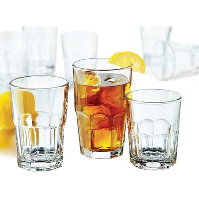Libbey Stonehenge Glass Drinkware 30pk Set