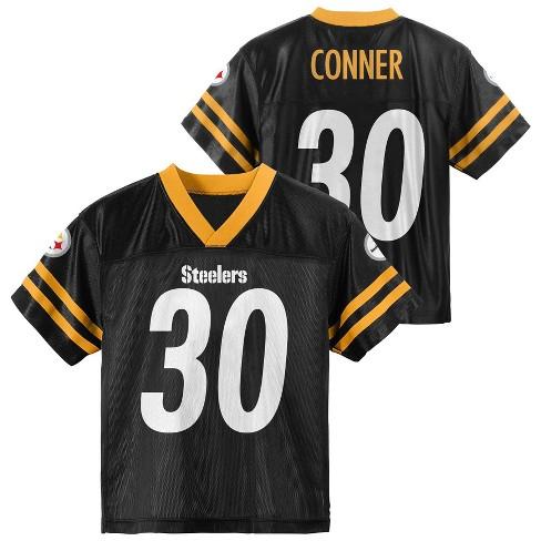 wholesale dealer 97c9f f2ab6 NFL Pittsburgh Steelers Toddler Boys' Conner James Jersey