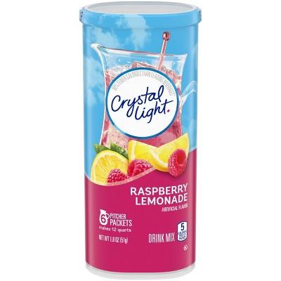 Crystal Light Raspberry Lemonade Drink Mix - 6pk/1.8oz