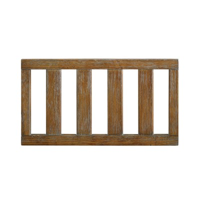 Baby Relax Hathaway Toddler Rail - Rustic Coffee