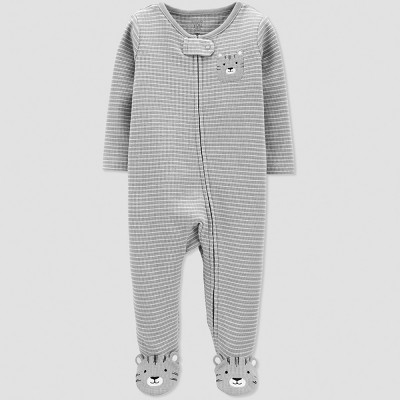 Baby Boys' Tiger Sleep 'N Play - Just One You® made by carter's Gray 6M