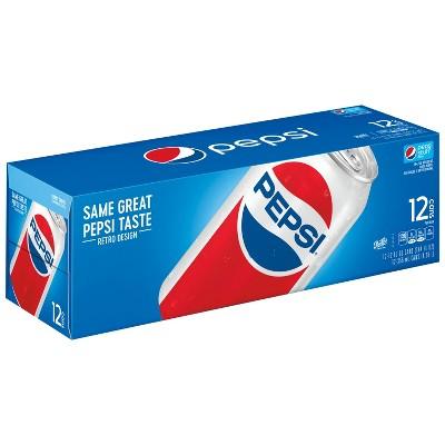 Pepsi Cola - 12pk/12 fl oz Cans