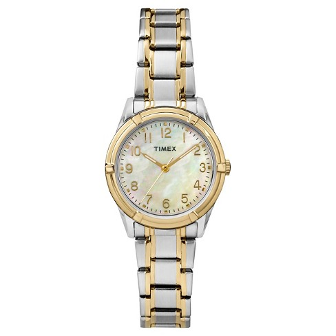 Women's Timex Watch - Two Tone/Mother of Pearl TW2P76100JT - image 1 of 1