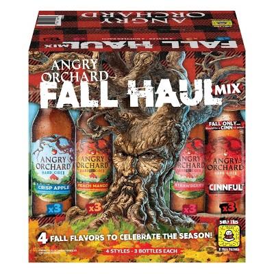 Angry Orchard Hard Cider Seasonal Variety Pack - 12pk/12 fl oz Bottles