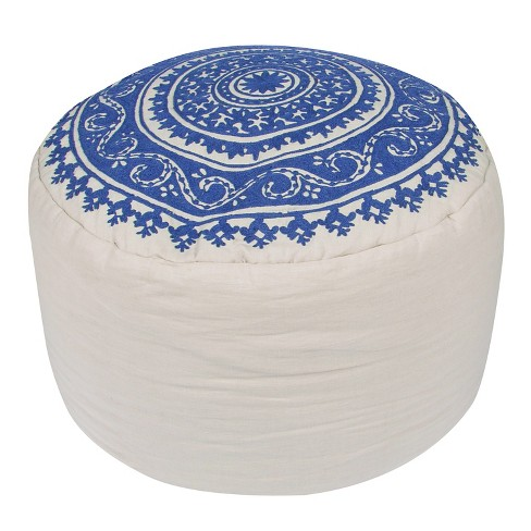 Inspired By Jennifer Adams Pouf - Jaipur - image 1 of 1