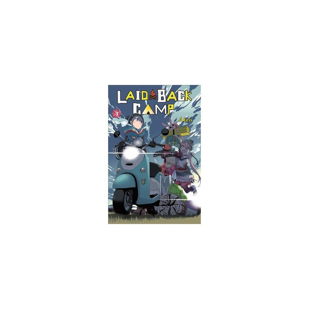 Laid-Back Camp 3 - (Laid-Back Camp) by Afro (Paperback)