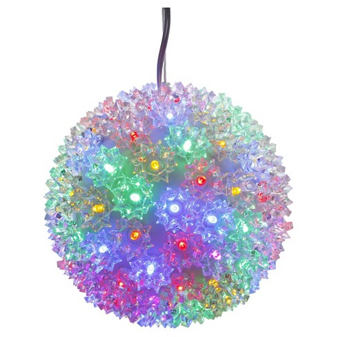 "50ct x 6"" LED Starlight Sphere - Multicolored - image 1 of 1"