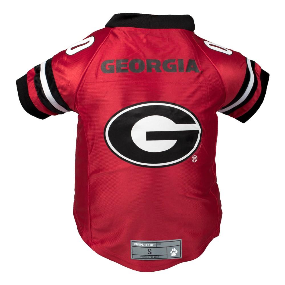 Georgia Bulldogs Little Earth Premium Pet Football Jersey - 4XL
