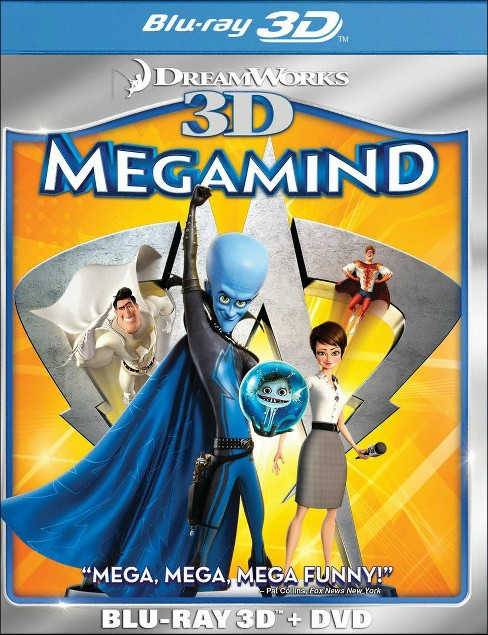 Megamind 3d (Blu-ray) - image 1 of 1