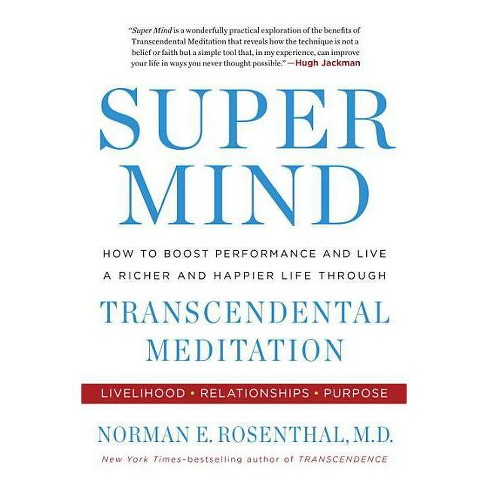 Super Mind - by  Norman E Rosenthal (Paperback) - image 1 of 1
