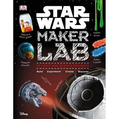 Star Wars Maker Lab - by  Liz Lee Heinecke & Cole Horton (Hardcover)