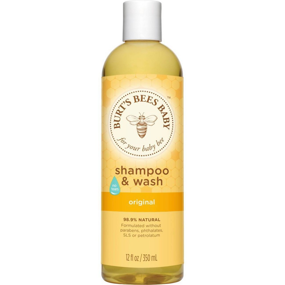 Burt 39 S Bees Baby Bee Shampoo 38 Wash 12 Fl Oz