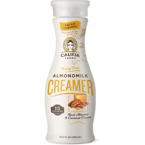 Califia Farms Pecan Caramel Almondmilk Creamer - 25.4 fl oz - image 1 of 3