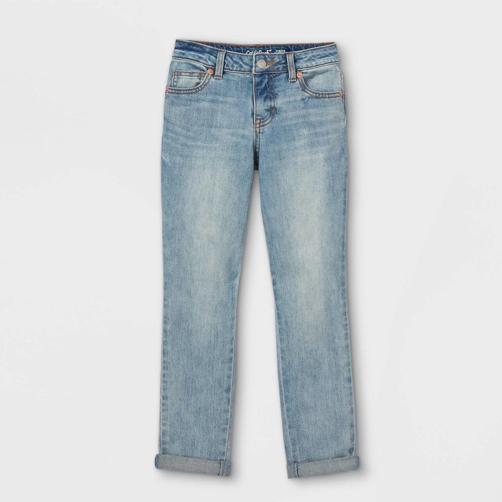 Girls 39 Girlfriend Mid Rise Jeans Cat 38 Jack 8482 Medium Wash 8