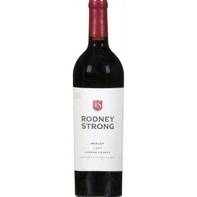 Rodney Strong Merlot Red Wine - 750ml Bottle