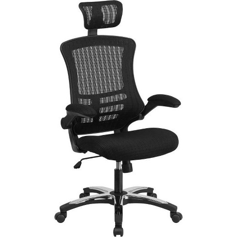 High Back Executive Chair Black - Riverstone Furniture Collection - image 1 of 4