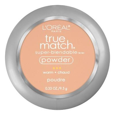 L'Oreal Paris True Match Makeup Super Blendable Oil-Free Pressed Powder - 0.33oz
