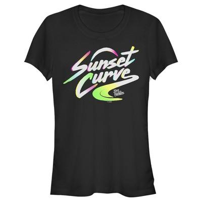 Junior's Julie and the Phantoms Sunset Curve Band Logo T-Shirt