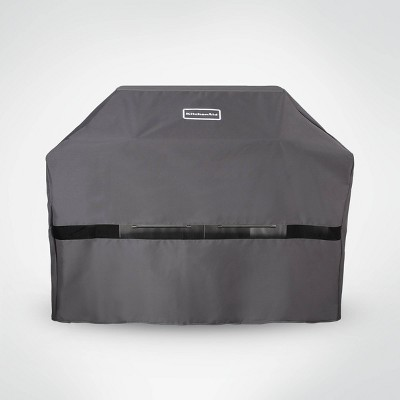 KitchenAid 3 & 4 Burner Grill Cover - Gray