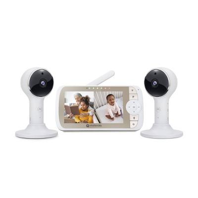 "Motorola 5"" WiFi HD Video Baby Monitor w/2 Cameras & PTZ - VM65-2CONNECT"