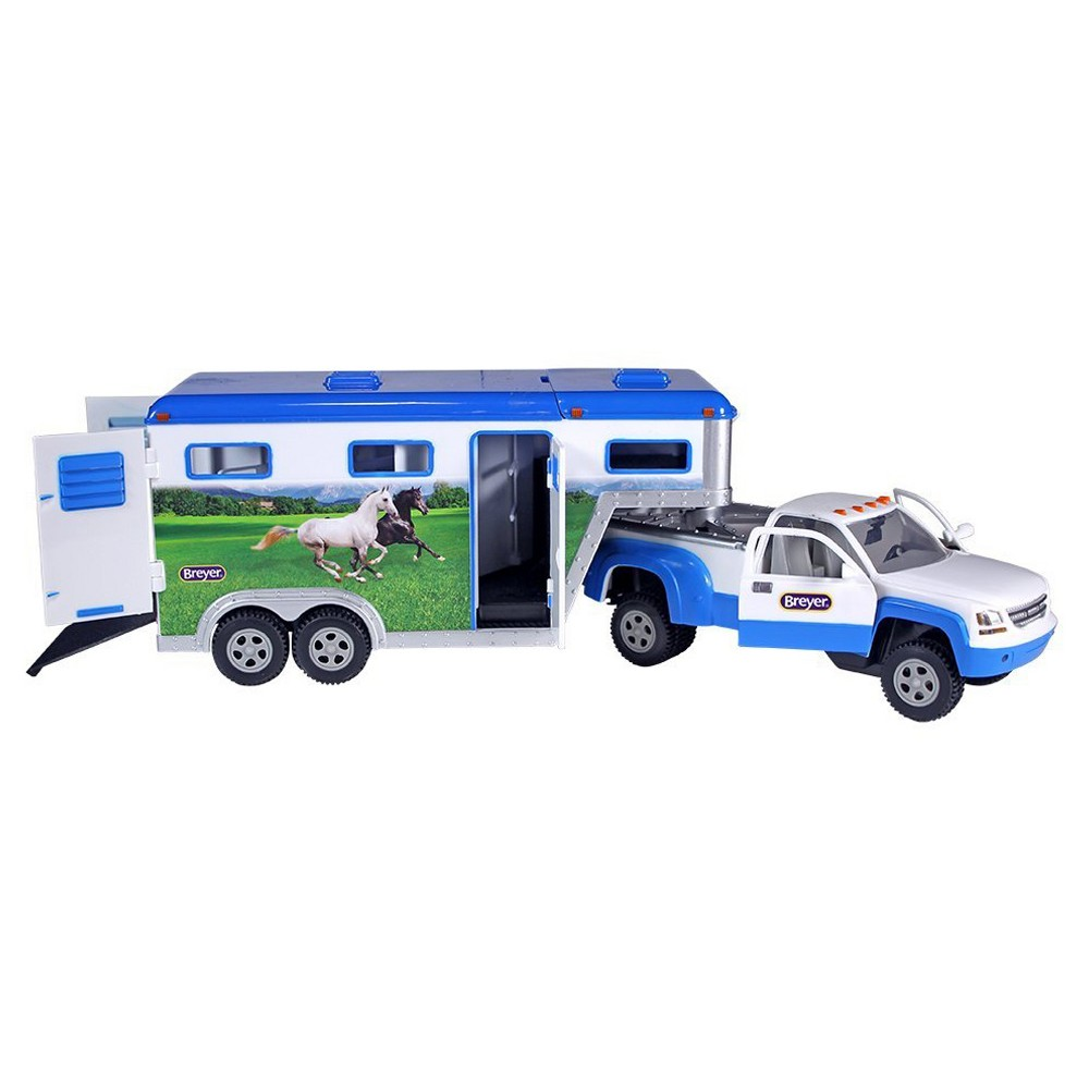 Breyer Stablemates Truck and Gooseneck Trailer