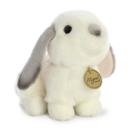 Aurora World Miyoni Grey Lop Eared Rabbit 8 Stuffed Animal Target