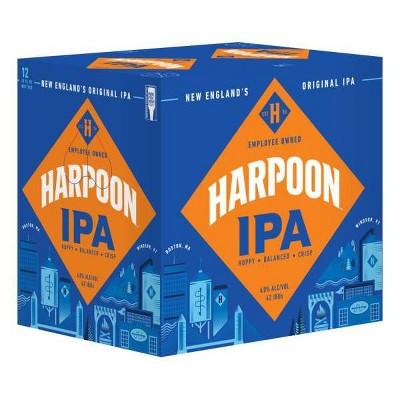 Harpoon IPA Beer - 12pk/12 fl oz Bottles