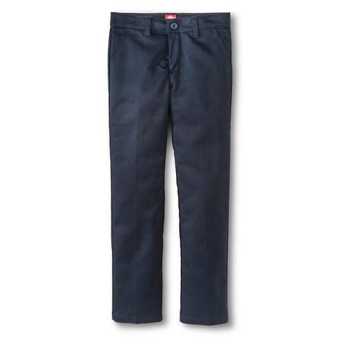 8d16db24b4d Dickies® Girls  Slim Fit Flat Front Pants - Dark Navy 7   Target