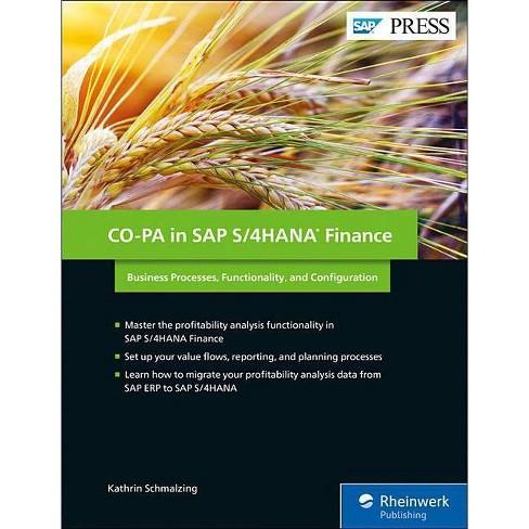 Co-Pa in SAP S/4hana Finance - by  Kathrin Schmalzing (Hardcover) - image 1 of 1