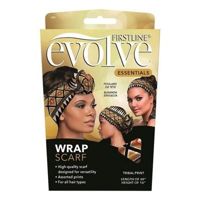 Evolve Wrap Scarf - Geometric Print