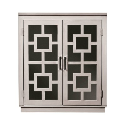 Samson Contemporary Hallway Cabinet Gray - HOMES: Inside + Out