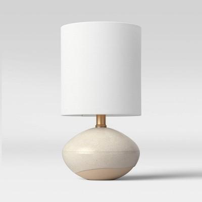 Ceramic Glaze Accent Lamp Tan - Project 62™