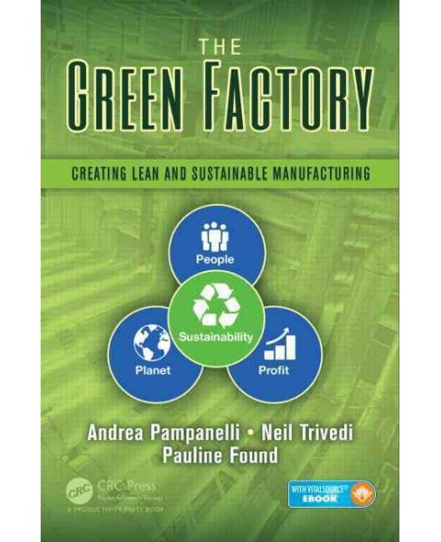 Green Factory : Creating Lean and Sustainable Manufacturing (Hardcover) (Andrea Pampanelli & Neil - image 1 of 1