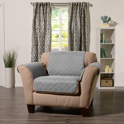 Reversible Chair Furniture Protector with Arms - Sure Fit