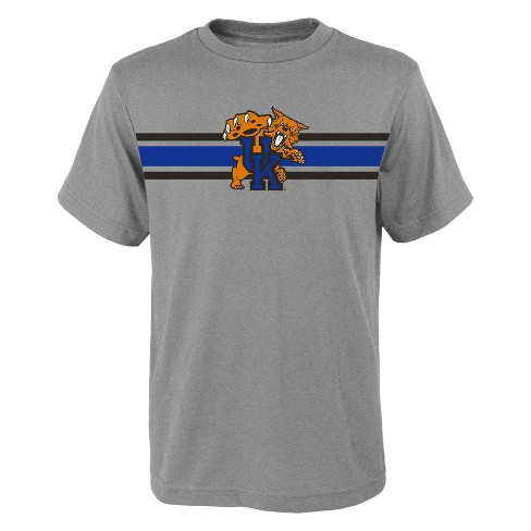 Kentucky Wildcats Boys' Short Sleeve Top Logo Gray T-Shirt - image 1 of 1