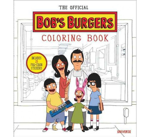 Official Bob's Burgers Coloring Book (Paperback) (Loren Bouchard) - image 1 of 1