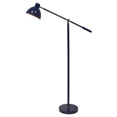 Task Floor Lamp Navy (Includes CFL bulb)- Pillowfort™