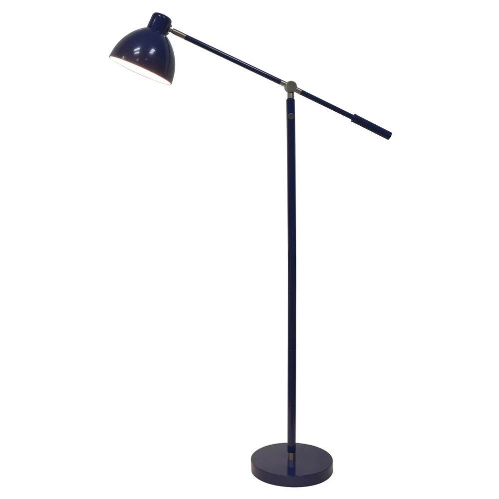 Task Floor Lamp Navy (Blue) (Includes Cfl bulb) - Pillowfort