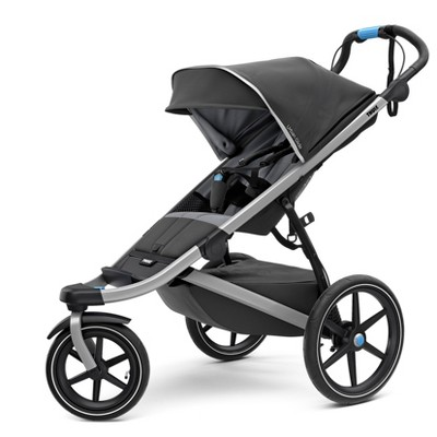 Thule Active with Kid's Urban Glide 2 Stroller - Dark Shadow/Silver