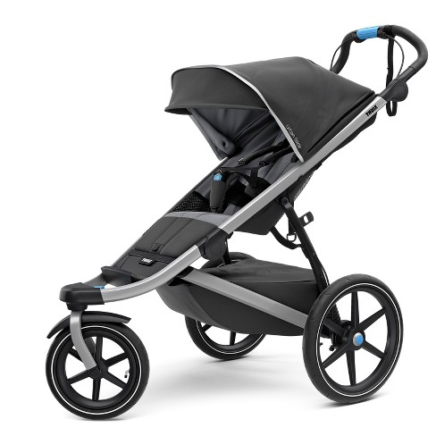 Thule Active with Kid's Urban Glide 2 Stroller - Dark Shadow/Silver - image 1 of 7