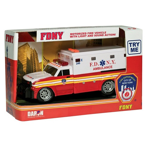 Daron Fire Department City of New York Motorized Ambulance (FDNY) - image 1 of 1