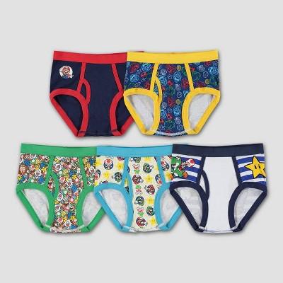 Boys' Mario 5pk Underwear
