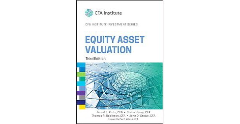 Equity Asset Valuation (Hardcover) (Jerald E. Pinto) - image 1 of 1