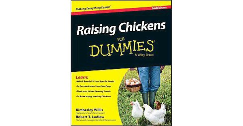 Raising Chickens for Dummies (Paperback) (Kimberly Willis) - image 1 of 1