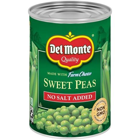 Del Monte Nsa Sweet Peas - 15oz - image 1 of 3