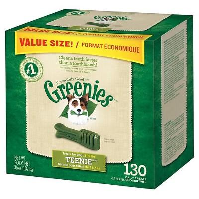 GREENIES™ Dental Chews 36oz Value Tub - Teenie Dog