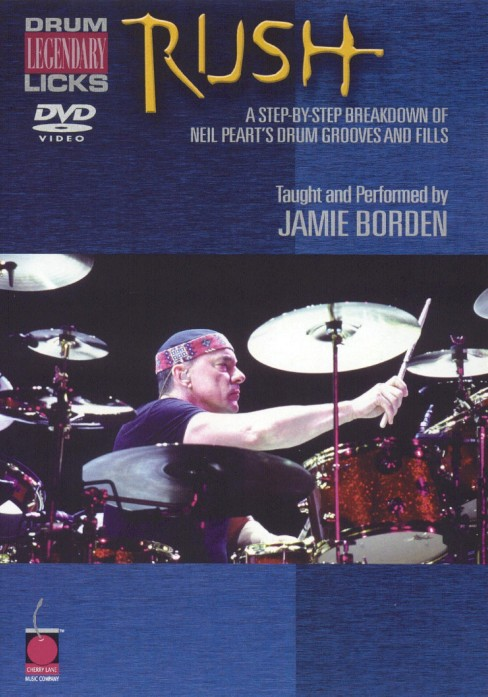 Rush legendary licks for drums (DVD) - image 1 of 1