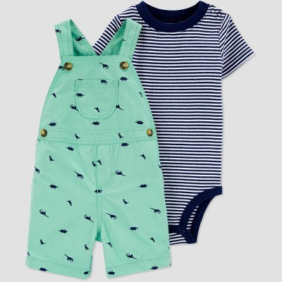 Baby Boys' Dino Top & Bottom Set - Just One You® made by carter's Green/Blue 6M