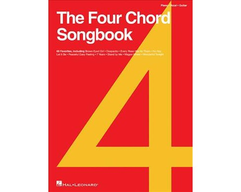 Four Chord Songbook : 60 Favorites -  (Paperback) - image 1 of 1