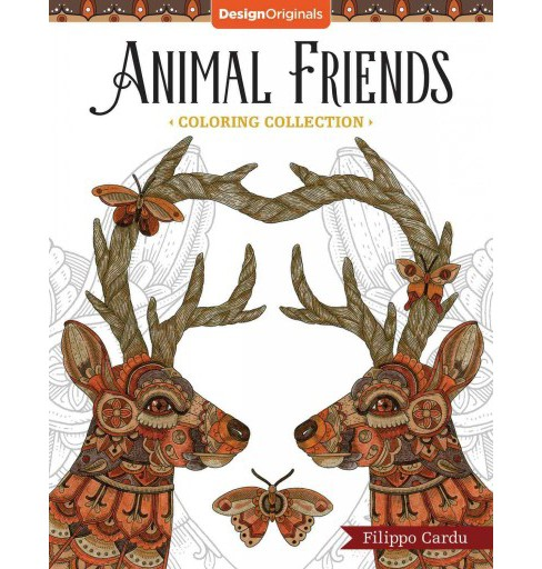 Animal Friends Coloring Collection (Paperback) (Filippo Cardu) - image 1 of 1